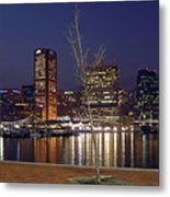 Baltimore Reflections Metal Print