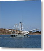 Band Of Gold Departing Cape Canaveral Metal Print