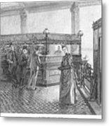 Banking, 19th Century Metal Print
