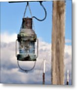 Bar Harbor Lantern Metal Print
