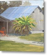 Barberville Barn Metal Print