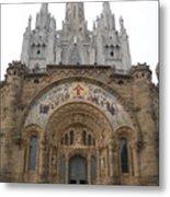 Barcelona - Temple Expiatori Del Sagrat Cor Metal Print
