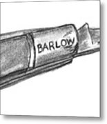 Barlow Knife Well Used Metal Print