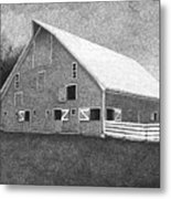 Barn 11 Metal Print by Joel Lueck