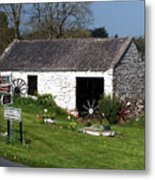 Barn At Fuerty Church Roscommon Ireland Metal Print