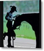 Barn Time Metal Print
