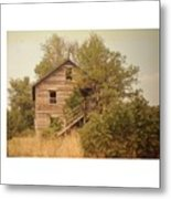 Barn Wood Homestead Metal Print