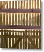 Barndoors Metal Print