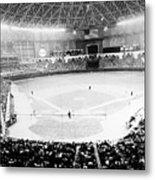 Baseball: Astrodome, 1965 Metal Print