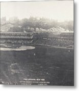 Baseball Game, 1904 Metal Print