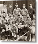 Baseball: West Point, 1896 Metal Print