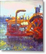 Basics Work Metal Print