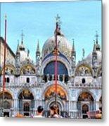 Basilica Di San Marco Metal Print