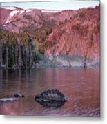 Basin Lake Sunrise 2 Metal Print