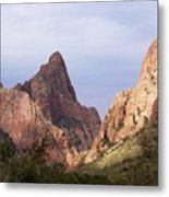 Basin View Big Bend Texas  Metal Print