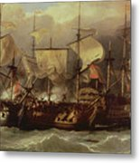 Battle Of Cape St Vincent Metal Print
