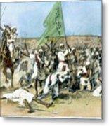 Battle Of Omdurman 1898 Metal Print