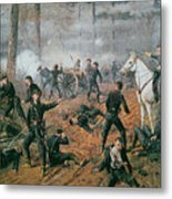 Battle Of Shiloh Metal Print by T C Lindsay