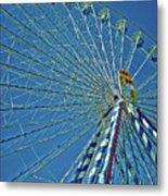 Bavarian Fairy Wheel Metal Print