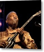 Bb King 2005 Metal Print
