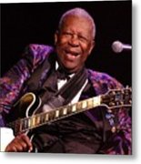 Bb King 2008 Metal Print
