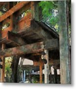Be Still In This Quiet Place Metal Print