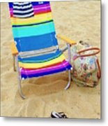 Beach Attire Metal Print