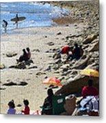 Beach Babies 2 Metal Print