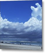 Beach In Brazil Metal Print