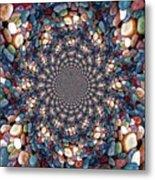 Beach Kaleidoscope Metal Print