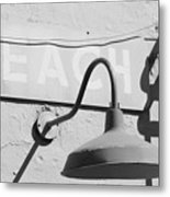 Beach Light Metal Print