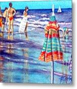 Beach Quintessentials-the Digitals Metal Print