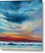 Beach Sunset Metal Print by Prashant Shah