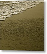 Beach Texture Metal Print