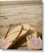 Beach Therapy Metal Print