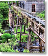 Bean's Sawmill Metal Print by JC Findley