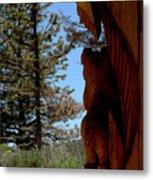 Bear Watch Metal Print