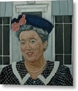 Beatrice Taylor As Aunt Bee Metal Print