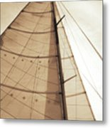 Beaufort Sails 1 Metal Print