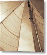 Beaufort Sails 2 Metal Print