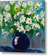 Beautiful Daisies  Metal Print by Patricia Awapara