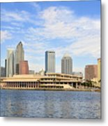 Beautiful Day Tampa Bay Metal Print
