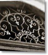 Beautiful Door Decoration Metal Print
