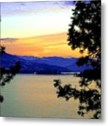 Beautiful Oyama Isthmus Metal Print