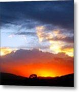Beautiful Utah Sunset Metal Print