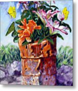 Beauty Grows Everywhere Metal Print