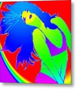 Beauty If A Rainbow Metal Print