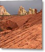 Beauty Of The Sandstone Landscape Metal Print