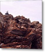 Beavertail Rock Formations Metal Print