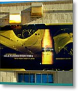 Beer Is Golden-america The Addicted Series Metal Print